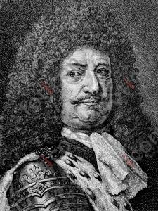 Portrait von Friedrich Wilhelm von Brandenburg | Portrait of Friedrich Wilhelm of Brandenburg  (foticon-portrait-0062-sw.jpg)