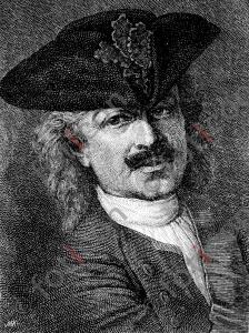 Portrait von Leopold I., Fürst von Anhalt-Dessau | Portrait of Leopold I, Prince of Anhalt-Dessau (foticon-portrait-0072-sw.jpg)