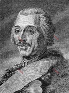 Portrait von Hans Joachim von Zieten | Portrait of Hans Joachim von Zieten (foticon-portrait-0078-sw.jpg)