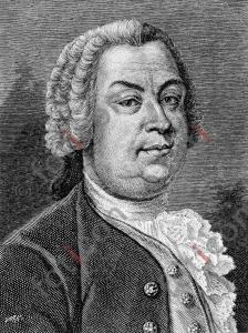 Portrait von Johann Christoph Gottsched | Portrait of Johann Christoph Gottsched  (foticon-portrait-0079-sw.jpg)