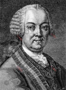 Portrait von Leopold Joseph Graf von Daun | Portrait of Leopold Joseph Graf von Daun (foticon-portrait-0081-sw.jpg)