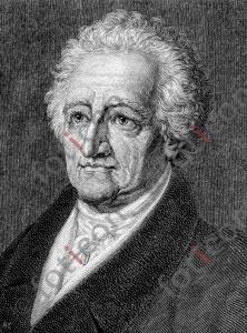 Portrait von Johann Wolfgang von Goethe | Portrait of Johann Wolfgang von Goethe (foticon-portrait-0115-sw.jpg)