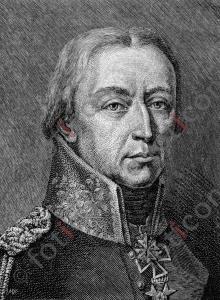 Portrait von Friedrich Wilhelm Freiherr von Bülow | Portrait of Friedrich Wilhelm Freiherr von Bülow (foticon-portrait-0120-sw.jpg)