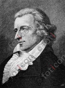 Portrait von Johann Christoph Friedrich von Schiller | Portrait of Johann Christoph Friedrich von Schiller (foticon-portrait-0129-sw.jpg)