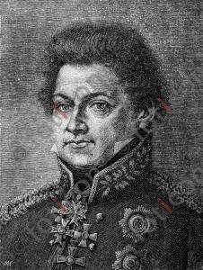 Portrait von August Wilhelm Antonius Graf Neidhardt von Gneisenau | Portrait of August Wilhelm Antonius Graf Neidhardt von Gneisenau (foticon-portrait-0131-sw.jpg)