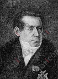 Portrait von August Wilhelm von Schlegel | Portrait of August Wilhelm von Schlegel (foticon-portrait-0137-sw.jpg)