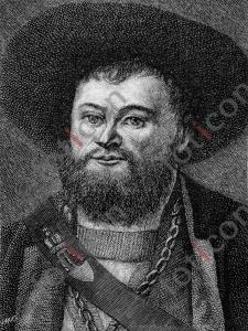 Portrait von Andreas Hofer  | Portrait of Andreas Hofer  (foticon-portrait-0138-sw.jpg)