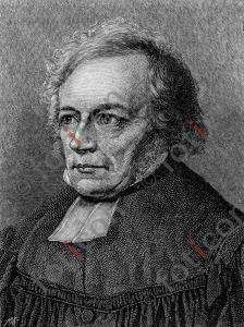 Portrait von Friedrich Daniel Ernst Schleiermacher  | Portrait of Friedrich Daniel Ernst Schleiermacher (foticon-portrait-0139-sw.jpg)