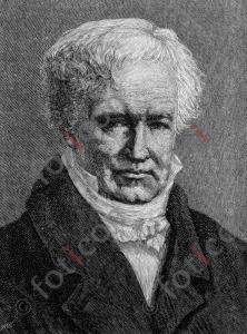 Portrait von Friedrich Wilhelm Heinrich Alexander von Humboldt  | Portrait of Friedrich Wilhelm Heinrich Alexander von Humboldt  (foticon-portrait-0140-sw.jpg)