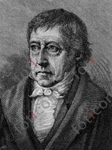 Portrait von Georg Wilhelm Friedrich Hegel | Portrait of Georg Wilhelm Friedrich Hegel (foticon-portrait-0142-sw.jpg)