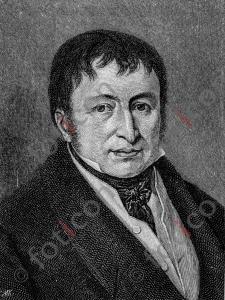 Portrait von Johann Friedrich Gottlob Koenig   Portrait of Johann Friedrich Gottlob Koenig (foticon-portrait-0180-sw.jpg)
