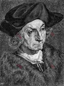 Portrait von Johann Geiler von Kaysersberg   Portrait of Johann Geiler von Kaysersberg (portrait-0005-sw.jpg)