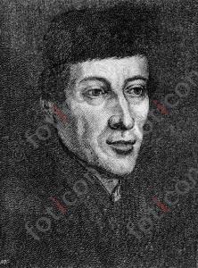 Portrait von Nikolaus Kopernikus   Portrait of Nicolaus Copernicus (portrait-0019-sw.jpg)