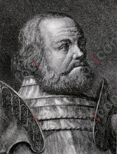 Gottfried von Berlichingen zu Hornberg   Gottfried von Berlichingen to Hornberg (portrait-0021-sw.jpg)