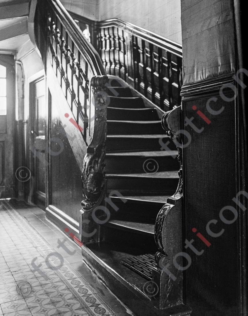 Treppe Citadellstraße | Stairway Citadellstreet - Foto foticon-kleesattel-sw-009.jpg | foticon.de - Bilddatenbank für Motive aus Geschichte und Kultur